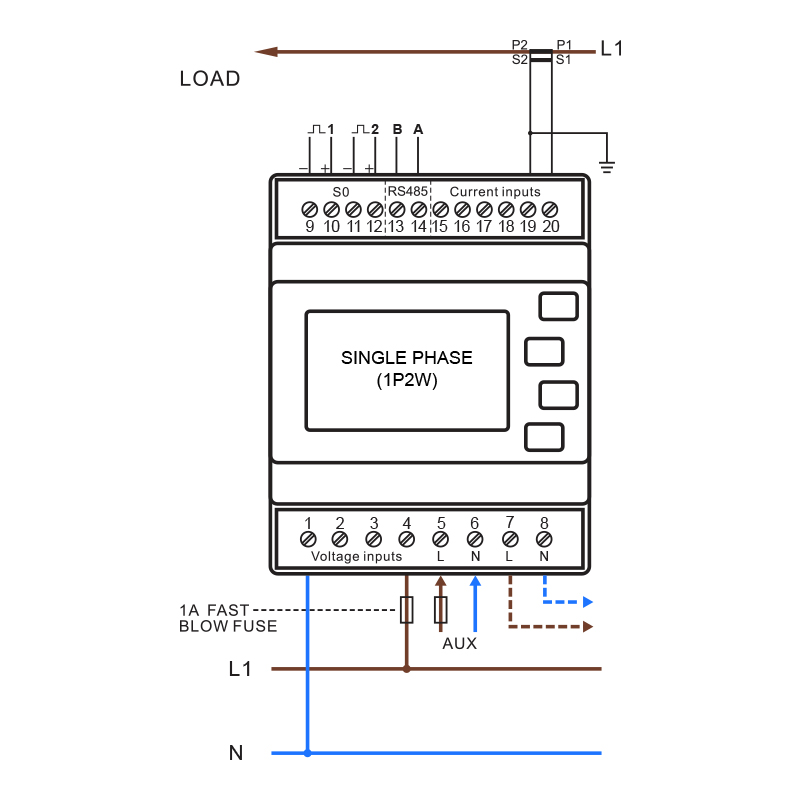 SMARTRAILX835-Wiring-Diagram-1P2W