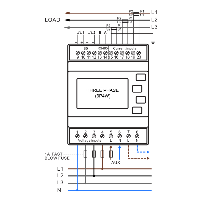 SMARTRAILX835-Wiring-Diagram-3P4W