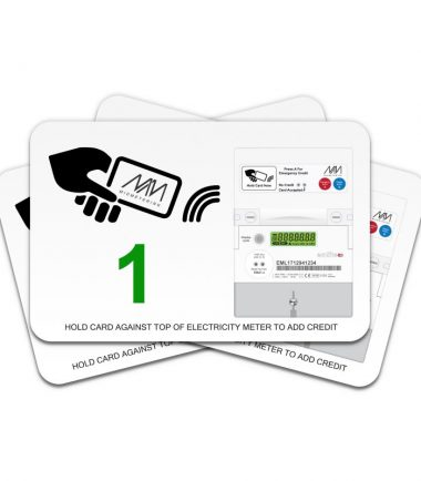 CONTACTLESSCARDS FOR MP21 PRE-PAYMENT METERS